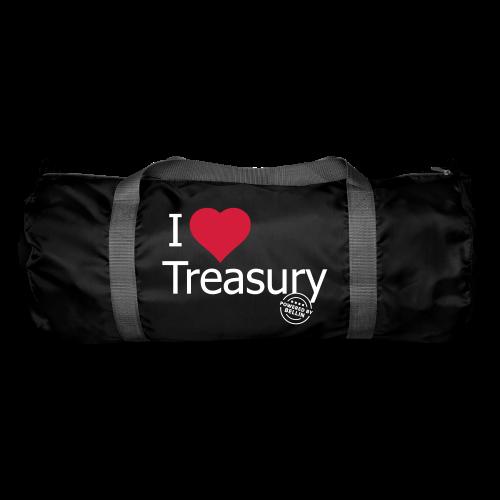 I LOVE TREASURY - Duffel Bag