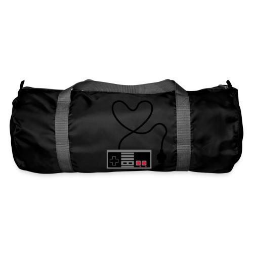 NES Controller Heart - Duffel Bag