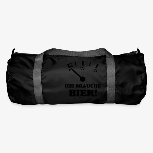 Bier Tankanzeige - Sporttasche