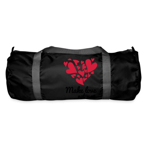 Make Love Not War T-Shirt - Duffel Bag