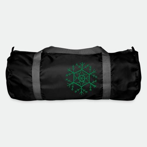 Snowflake molecule - Duffel Bag