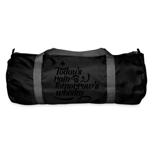 Todays's Rain Women's Tee - Quote to Front - Duffel Bag