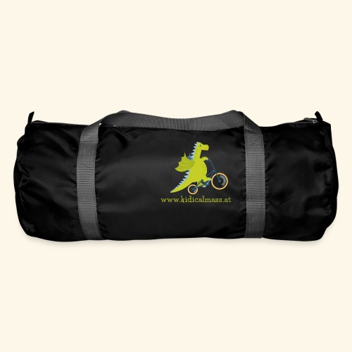 Musikdrache für dunklen Hintergrund - Sporttasche