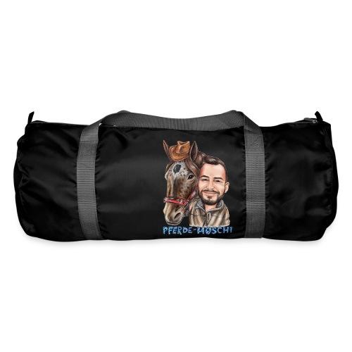 Pferde-Hoschi Kollektion hinten - Sporttasche