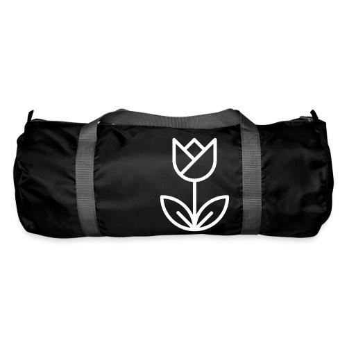 Tulip white png - Duffel Bag
