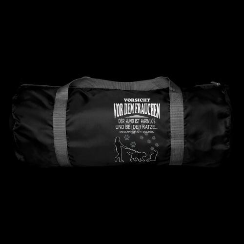 Vorsicht vor dem FRAUCHEN - Sporttasche