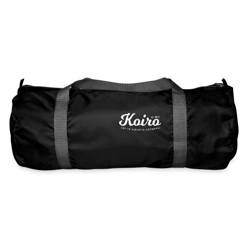 Koiro - Valkoinen Teksti - Urheilukassi