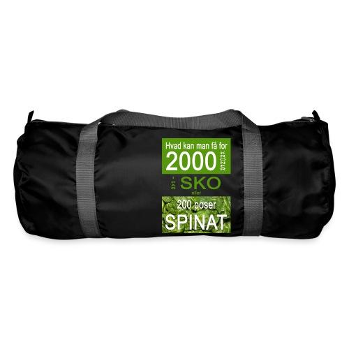 Hvad kan man få for 2000 kroner - Sportstaske