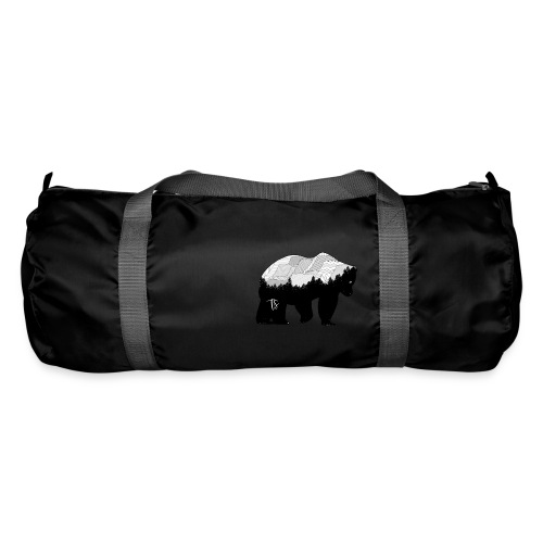 Geometric Mountain Bear - Borsa sportiva