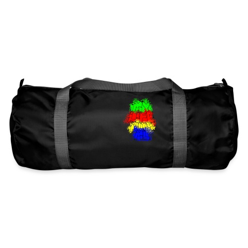 Den Officielle My Life With Minecraft Logo - Sportstaske