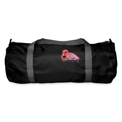 Pink Flamingo Watercolors Nadia Luongo - Borsa sportiva