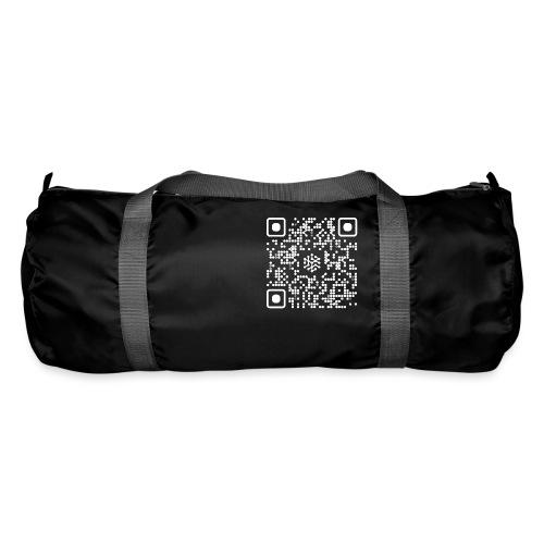 QR Safenetforum White - Duffel Bag