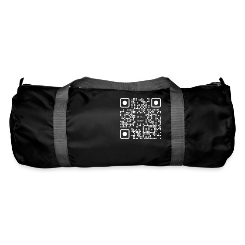 QR - Maidsafe.net White - Duffel Bag