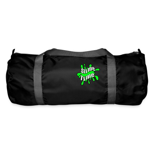 Slyme Tyme Logo / White To Green - Duffel Bag