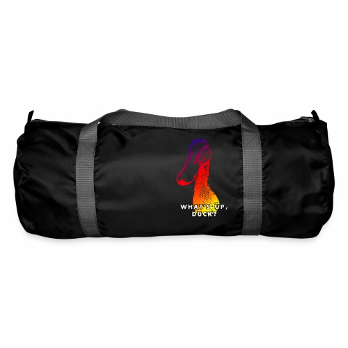 what's up duck - Color - Duffel Bag