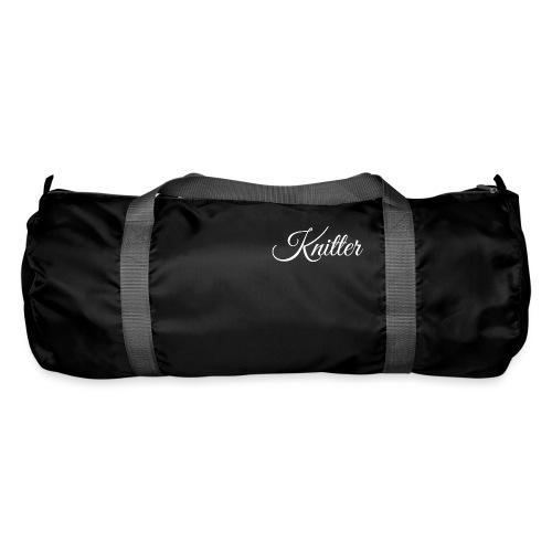 Knitter, white - Duffel Bag