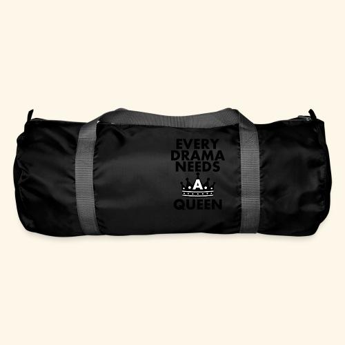 EVERY DRAMA black png - Duffel Bag