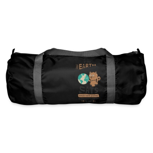 IF THE EARTH WAS FLAT - Sportsbag