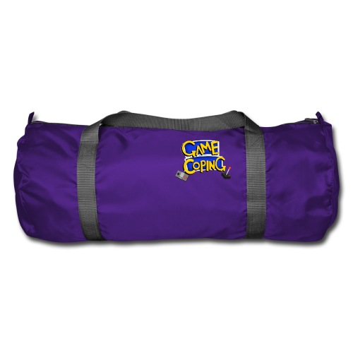 Game Coping Logo - Duffel Bag