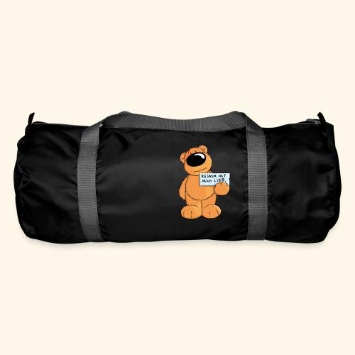 chris bears Keiner hat mich lieb - Sporttasche