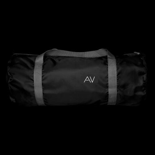 AV White - Duffel Bag