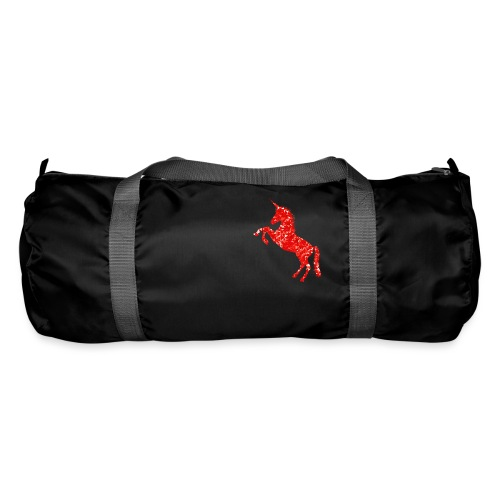 unicorn red - Torba sportowa