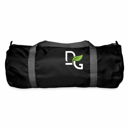 DrGreen Logo Symbol weiss grün - Sporttasche