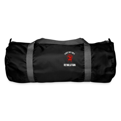 a nice day for a revolution - Duffel Bag