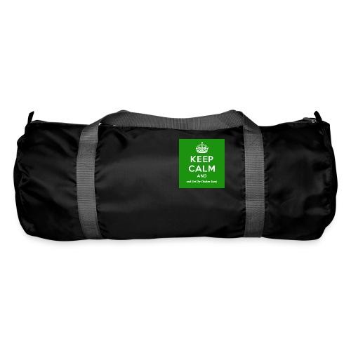Keep Calm and Get The Chicken Sarni - Green - Duffel Bag