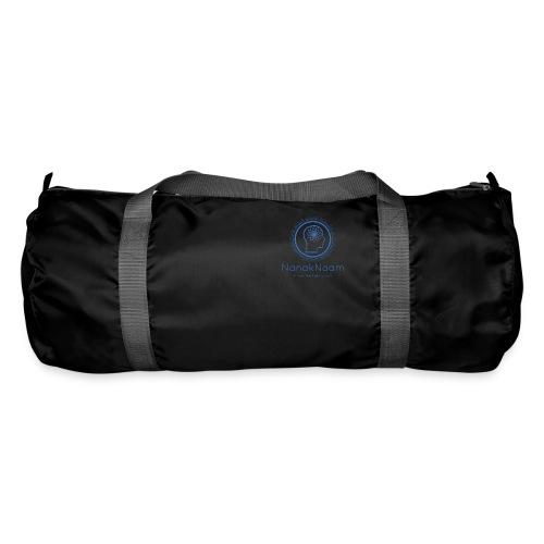 Nanak Naam Logo and Name - Blue - Duffel Bag