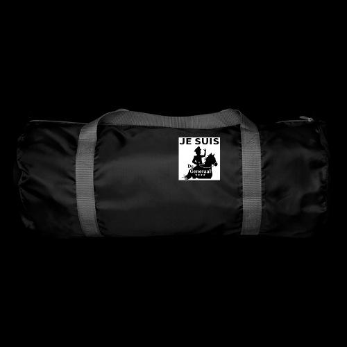JE SUIS De Generaal (zwart op zit) - Sporttas