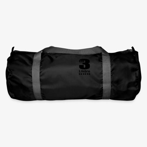 Die 3 Liköre - logo schwarz - Sporttasche