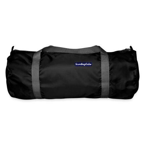 ScumBagGabe Blue XL Logo - Duffel Bag