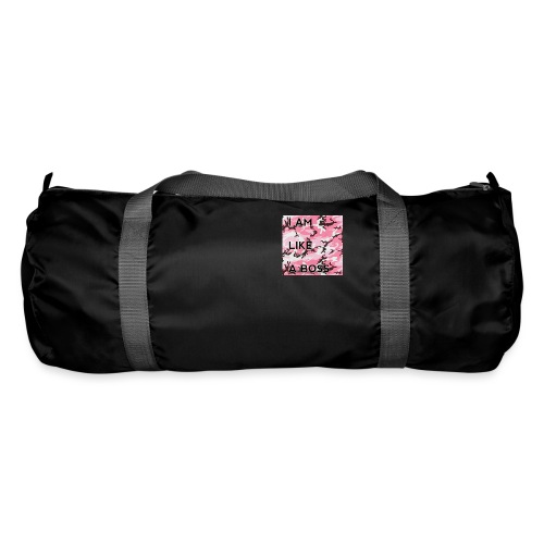 i am loke a boss premium pink camo - Sporttasche