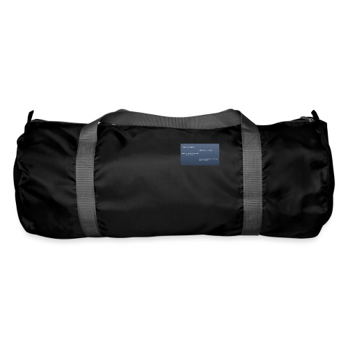 Running joke t-shirt - Duffel Bag