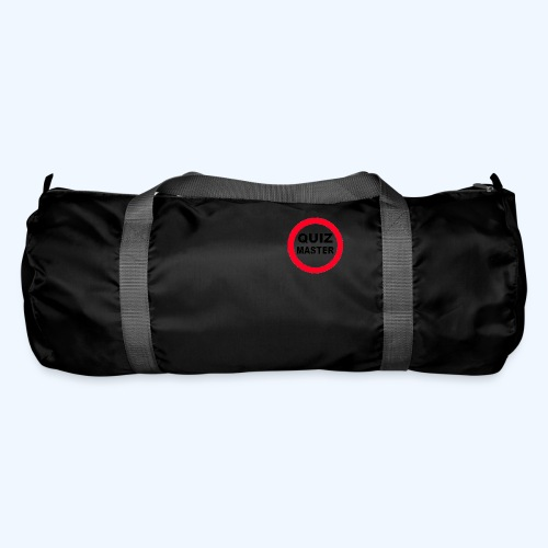 Quiz Master Stop Sign - Duffel Bag