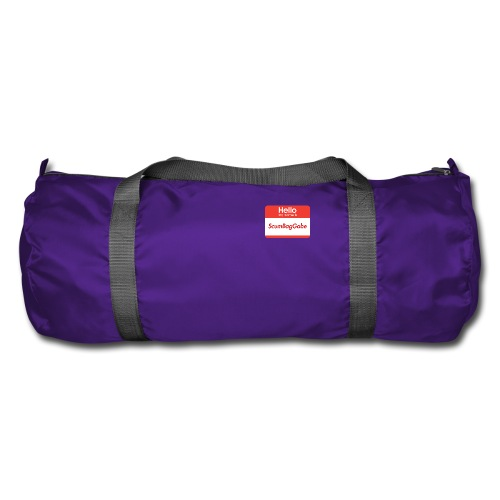 Hello My Name Is ScumBagGabe - Duffel Bag