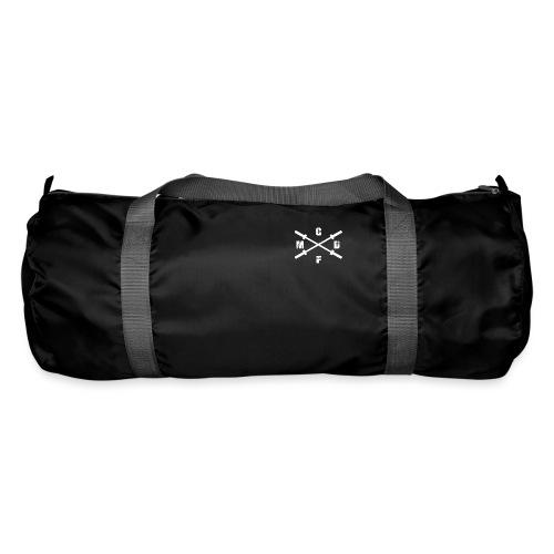 Snapback Cap mit hellem Logo- Druck an der rechten - Sporttasche