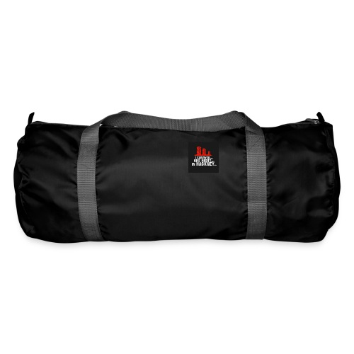 i survived one night in hackney badge - Duffel Bag