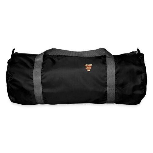 Never give up - Duffel Bag