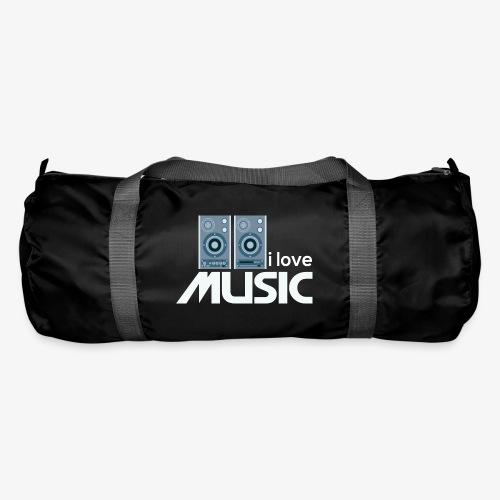 Amo la música 02 - Bolsa de deporte