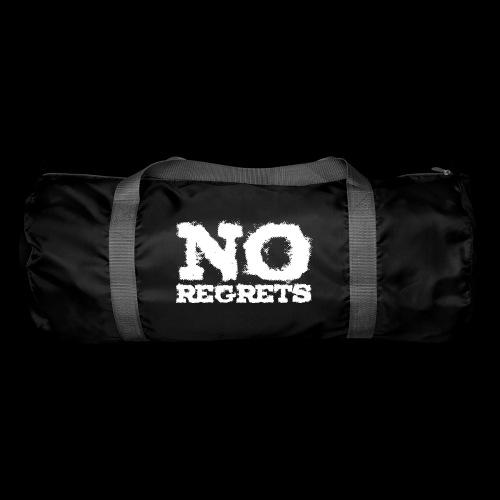 NO REGRETS Transparent 4k - Sporttasche