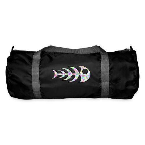 fish legs in rainbow colors - Duffel Bag