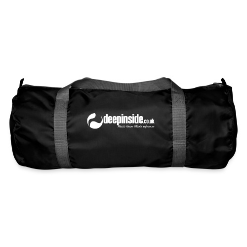 DEEPINSIDE World Reference logo white - Duffel Bag