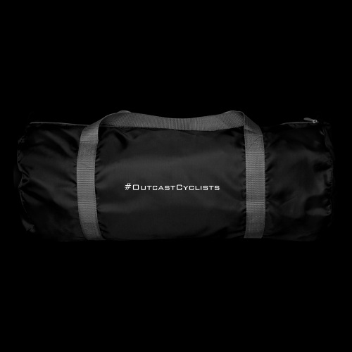 #OutcastCyclists - white - Duffel Bag
