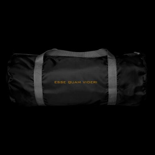 Esse Quam Videri - bronze - Duffel Bag