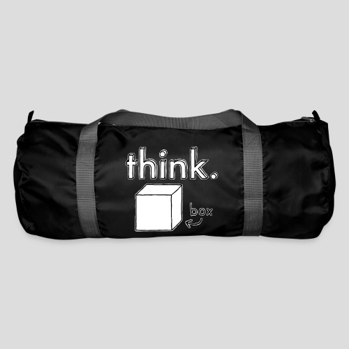 Think Outside The Box Illustration - Duffel Bag
