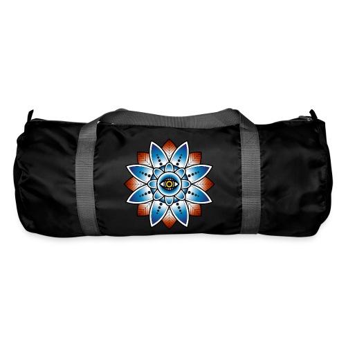 Psychedelisches Mandala mit Auge - Sporttasche