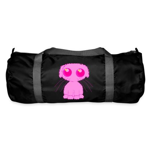 lurvig neonrosa kawaii anime doodle hund - Duffel Bag