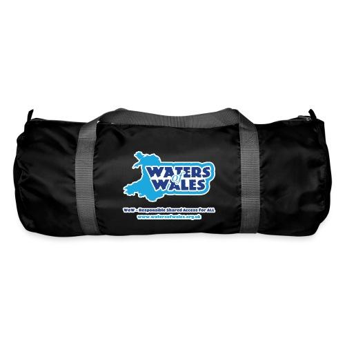 Logo_tshirt_outlined - Duffel Bag